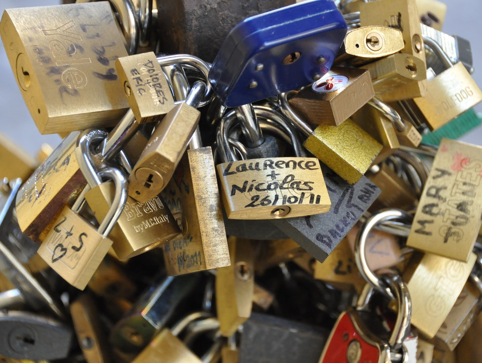 Locks of Love Florence  Italy