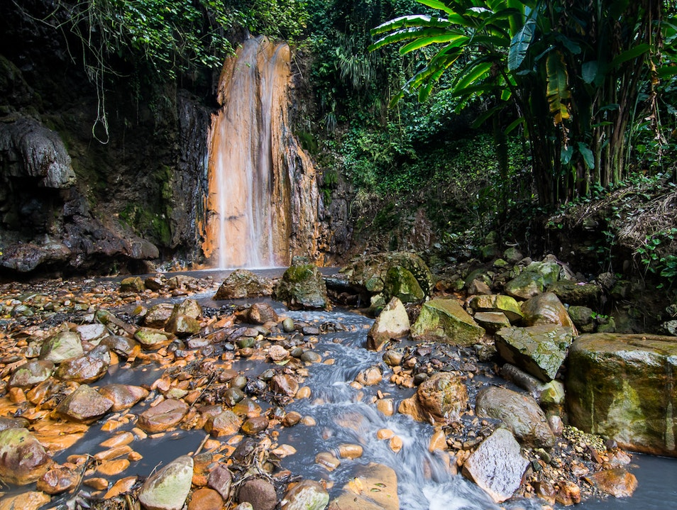 Diamond Botanical Gardens Soufriere  Saint Lucia