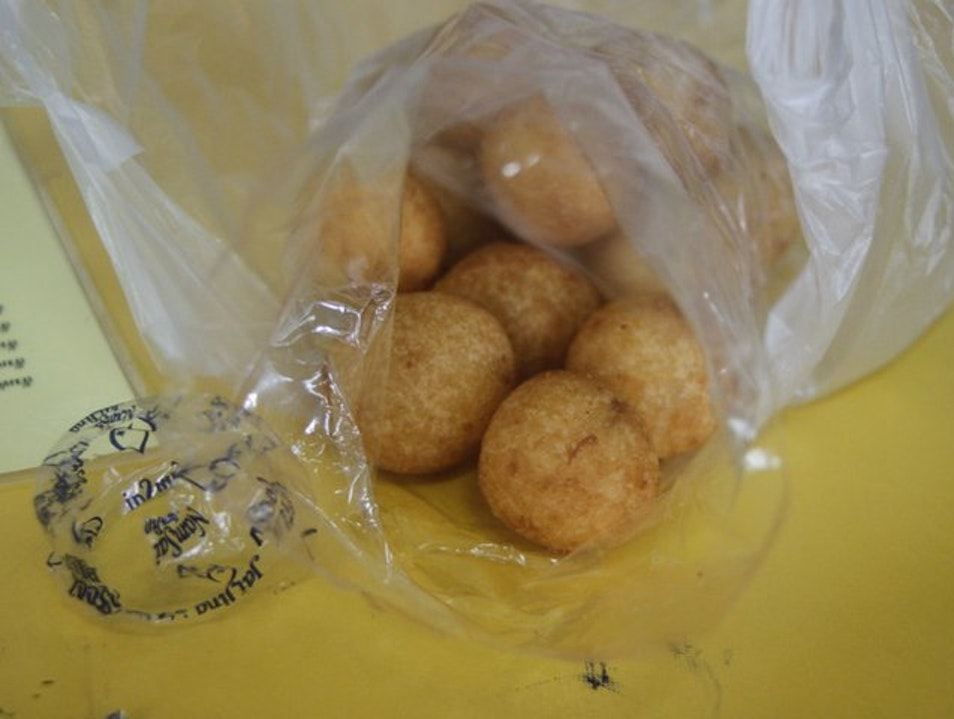 Turtle eggs - the lesser known donut holes Bangkok  Thailand