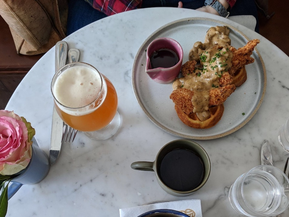 Brunch at Monarch and the Milkweed Burlington Vermont United States