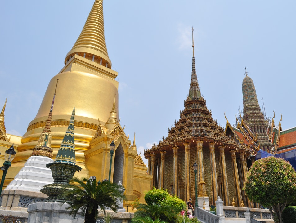 There Are Palaces and Then There's the Grand Palace Bangkok  Thailand