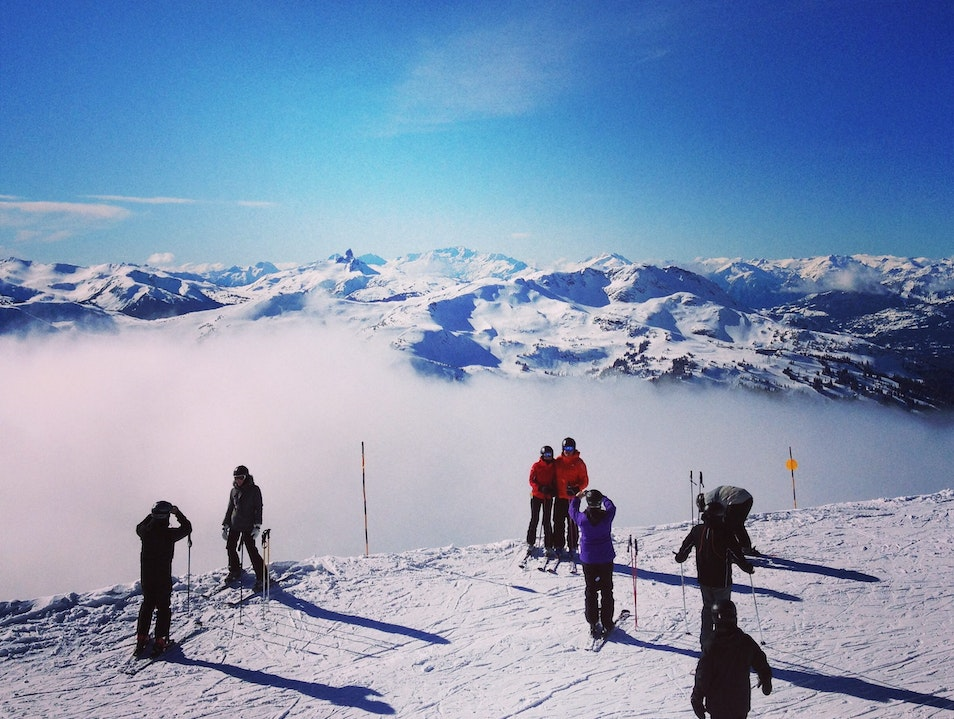 Seventh Heaven In Whistler, Canada