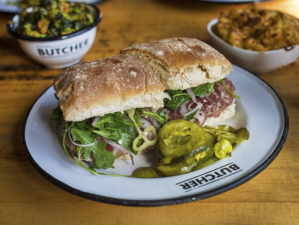 The Gambino at Cochon Butcher New Orleans Louisiana United States