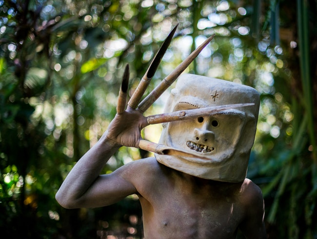 Meet Papua New Guinea's Mudmen