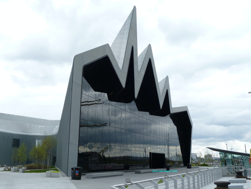 Riverside Museum's Memory Lane Glasgow  United Kingdom