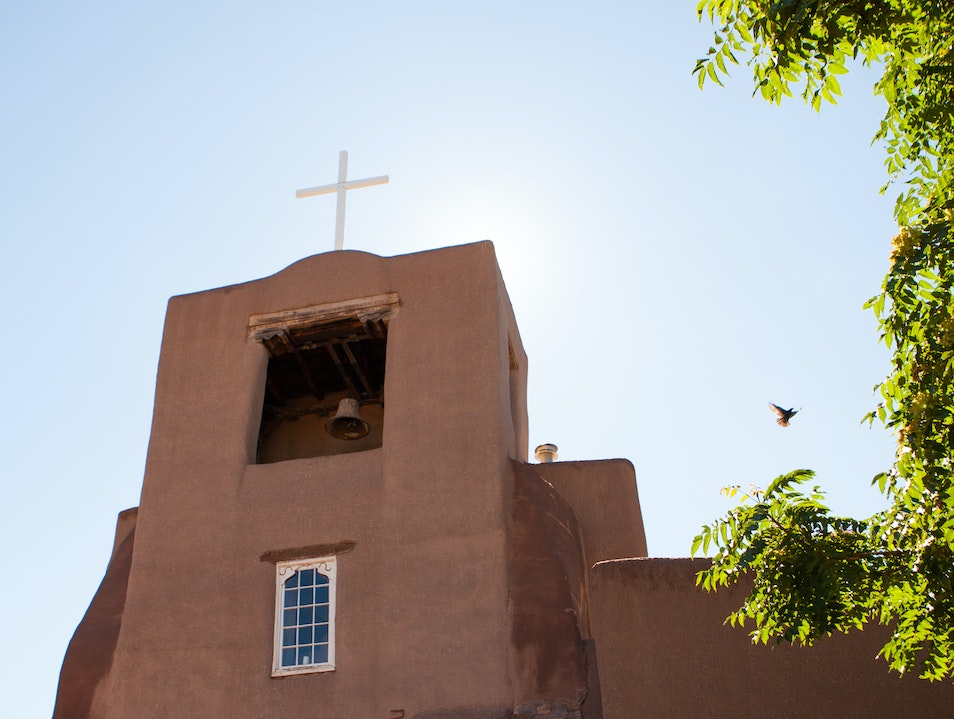 San Miguel Chapel Santa Fe New Mexico United States
