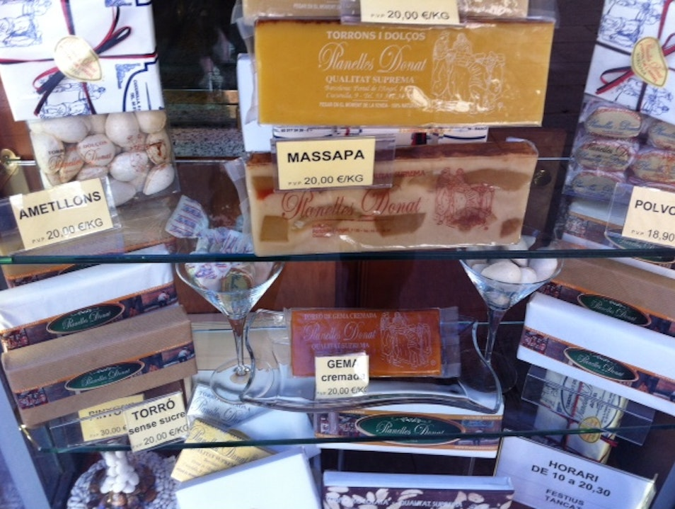 The best goodies from Barcelona