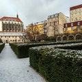 Franciscan Garden  Prague  Czech Republic