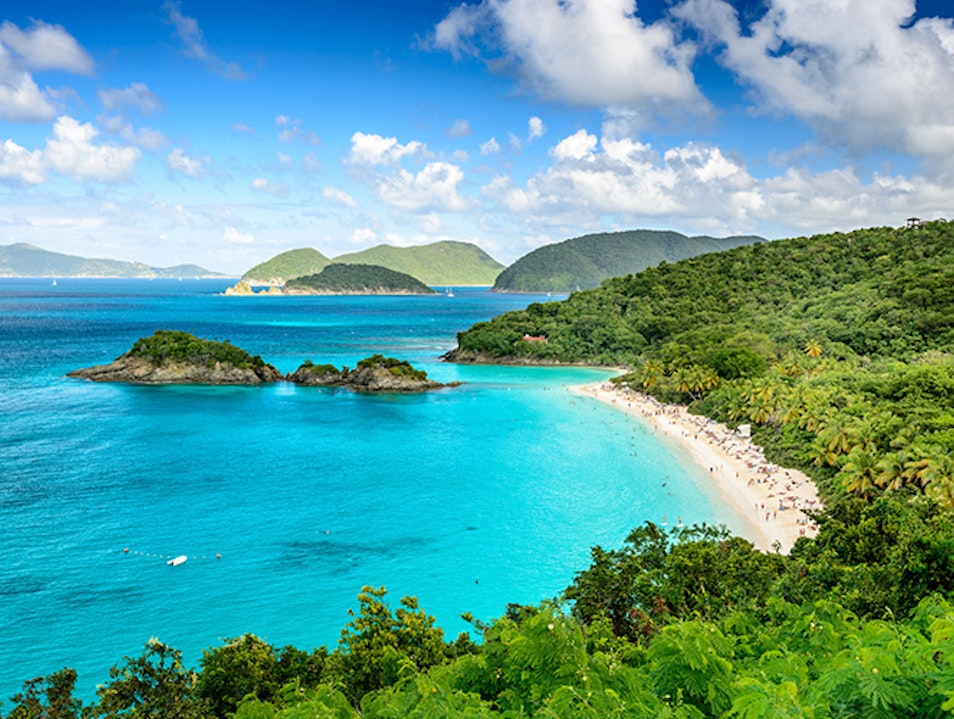 Trunk Bay Trunk Bay  United States Virgin Islands
