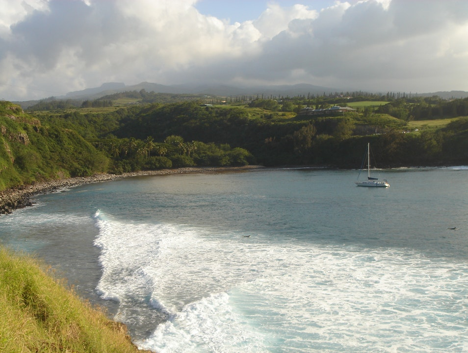 Cruising in Maui's Honolua Bay