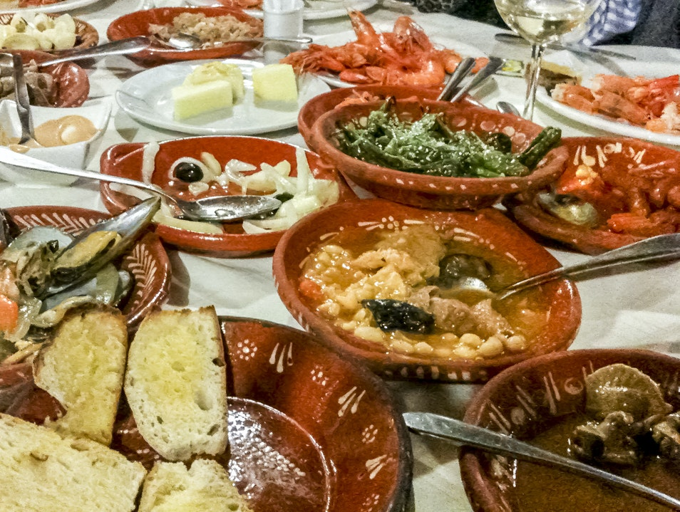 A Northern Portuguese Food Feast Vizela  Portugal