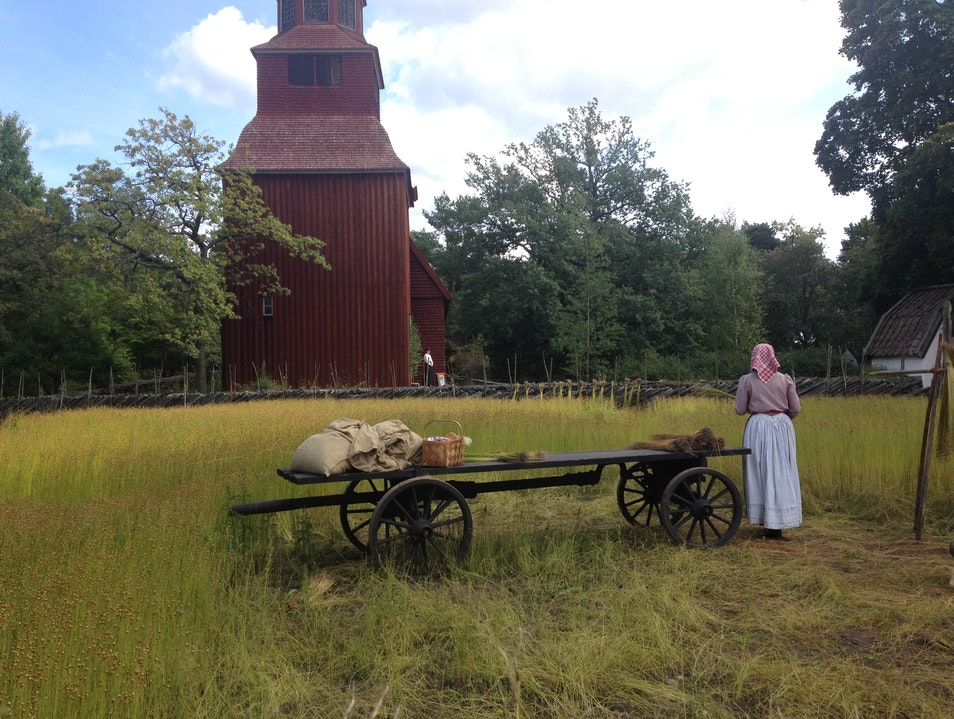 Skansen Outdoor Swedish History Museum  Stockholm  Sweden