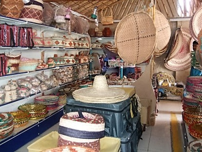 A Place to Buy Inexpensive Truffles and a Straw Hat