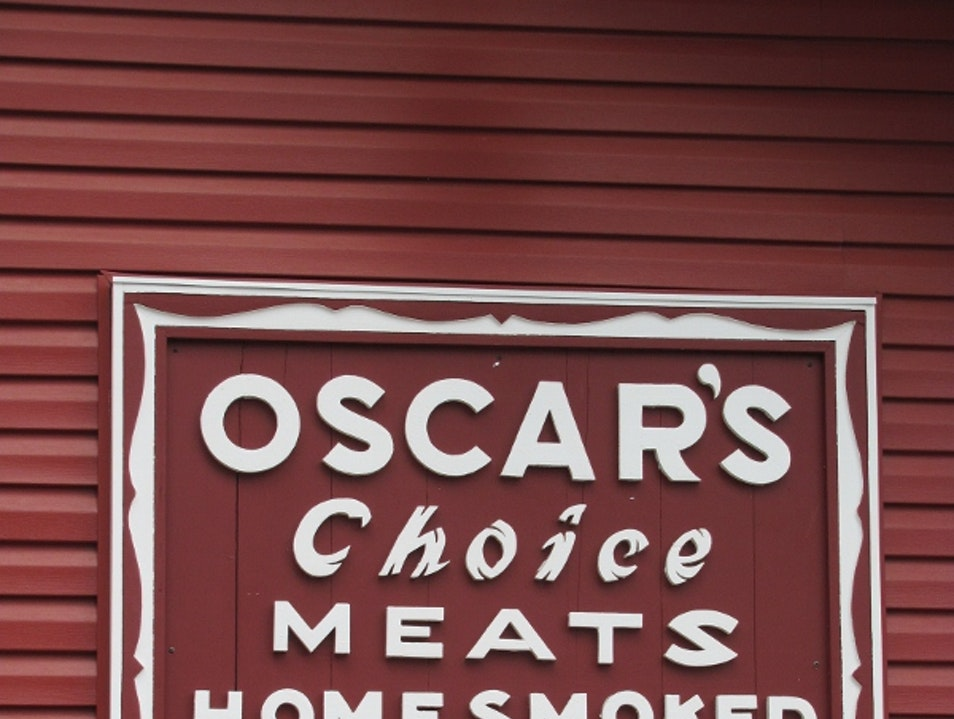 Meat at its Best at Oscar's Adirondack Smokehouse Warrensburg New York United States
