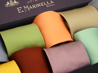 Eugenio Marinella Showroom Naples  Italy