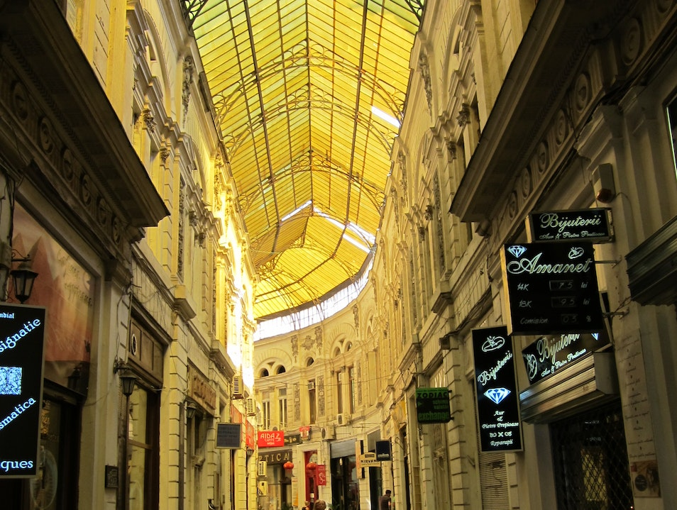 Villacrose and Macca passages Bucharest  Romania