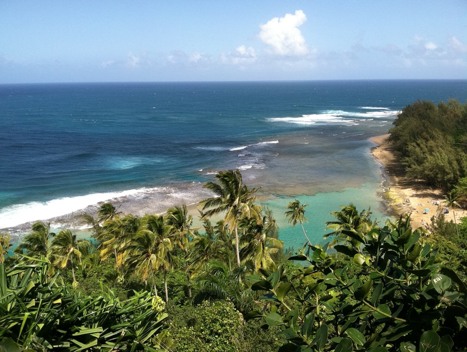 Overlooking the Nepali Coast Waimea Hawaii United States