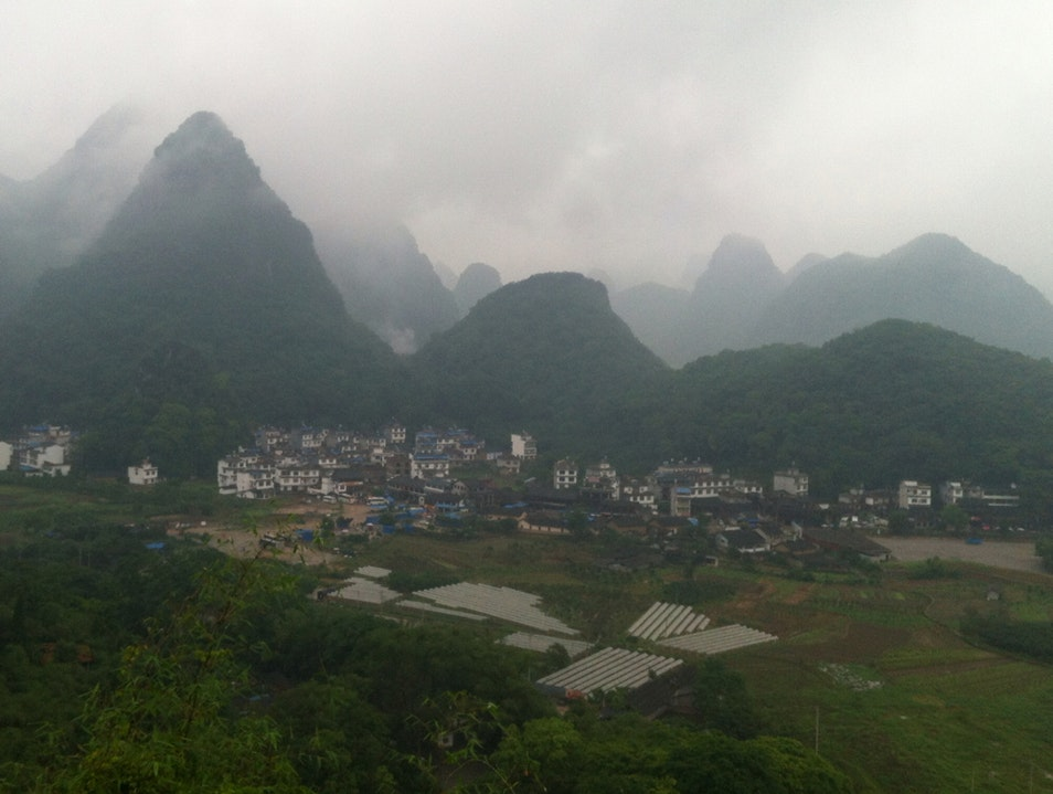 Hike to Moon Hill Guilin  China
