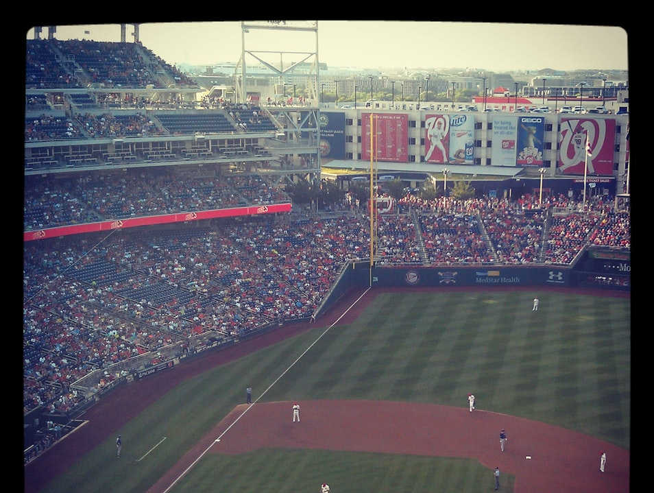 Watching Major-League Baseball for $5 Washington, D.C. District of Columbia United States