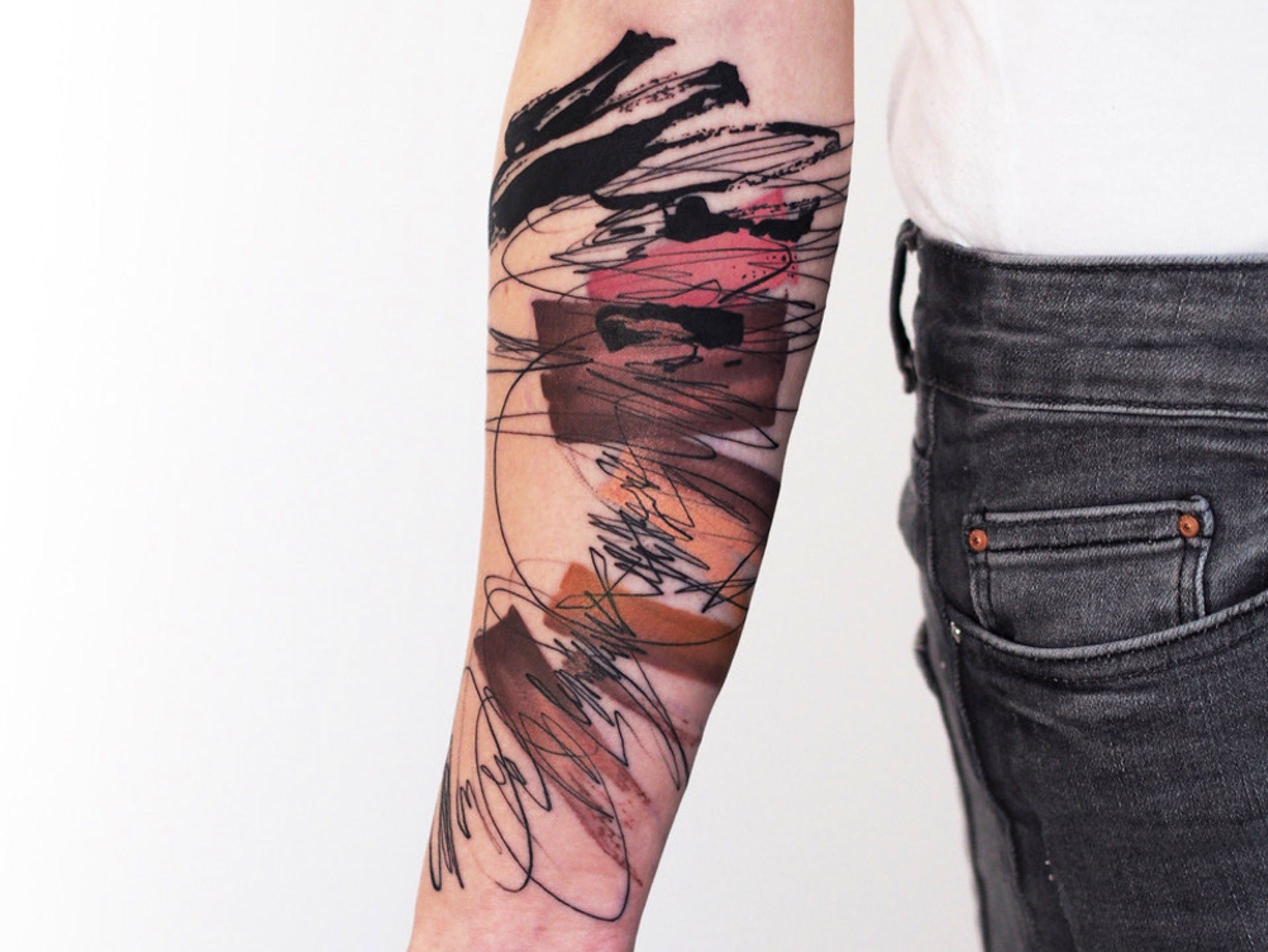 Artist Julia Rehme translates fine art into tattoos at Studio Noïa in Berlin.