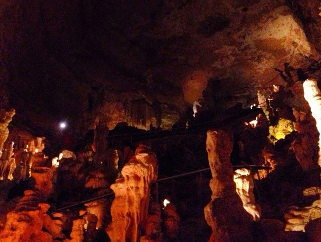 Natural Bridge Caverns Tour
