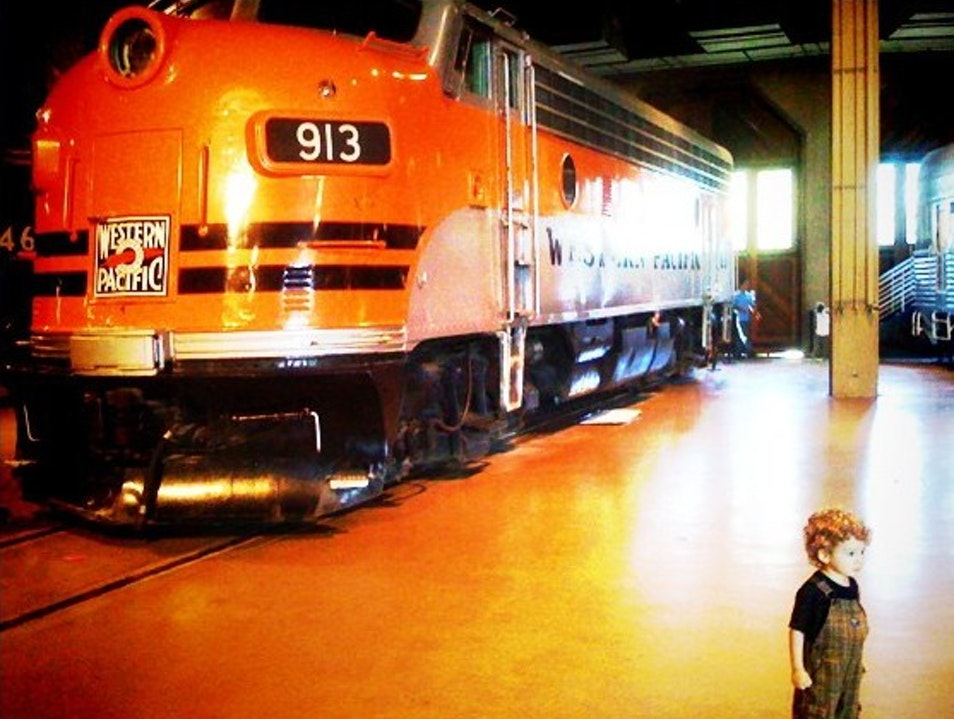 Family Fun with Trains in Sacramento Sacramento California United States