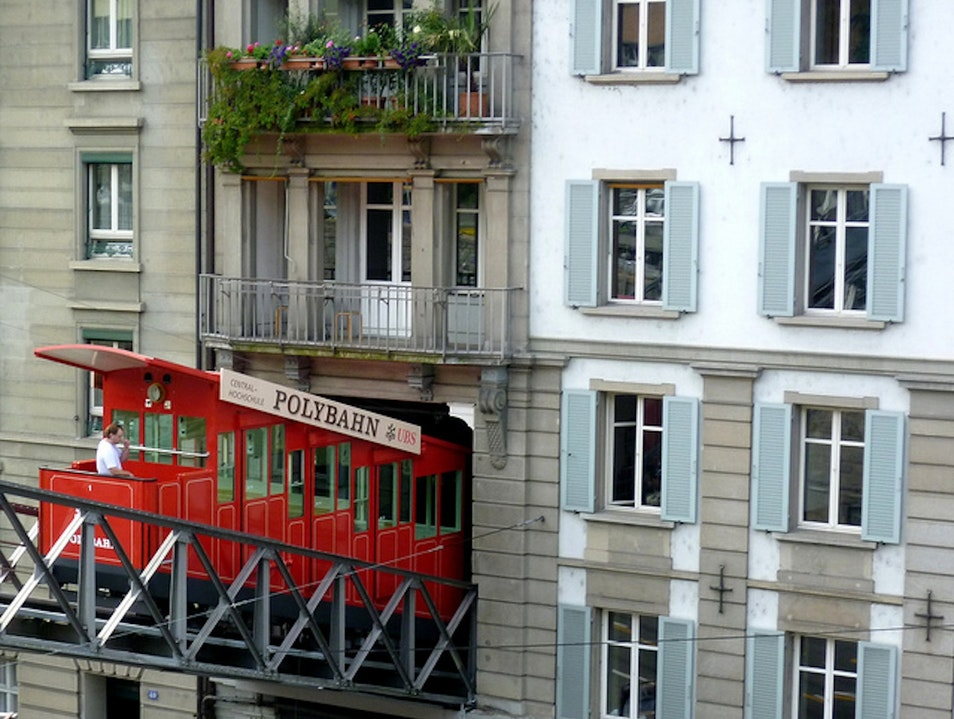 Ride up the Polybahn for Stellar Views Zurich  Switzerland