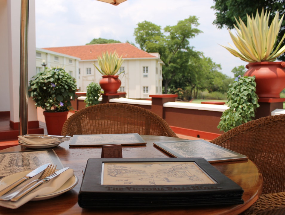 Stepping Back in Time at The Victoria Falls Hotel