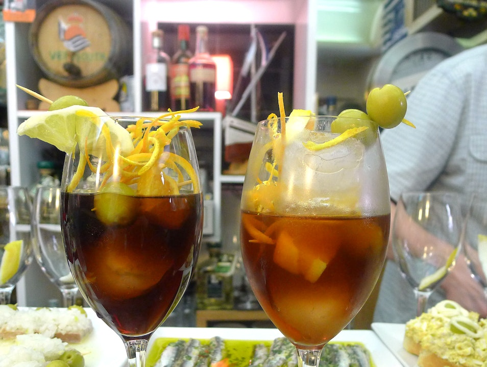 A Miniature Vermouth Watering Hole Donostia  Spain