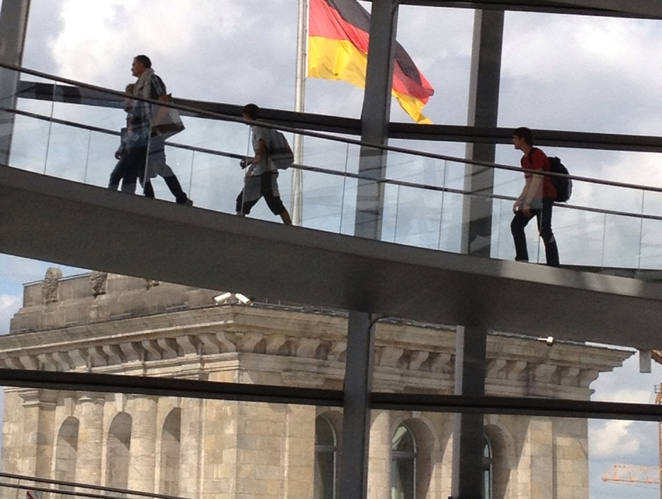 Encountering the Reichstag Berlin  Germany