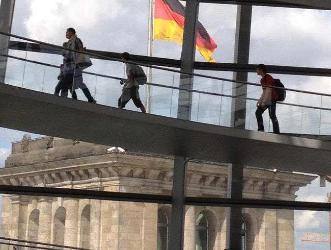 Encountering the Reichstag