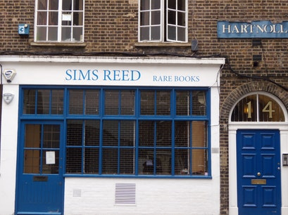 Sims Reed Rare Books London  United Kingdom