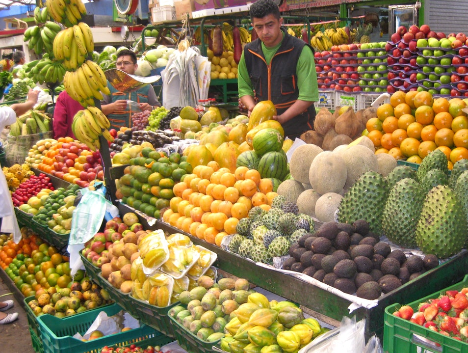 Amazing Extravaganza of Tropical Fruits Bogota  Colombia