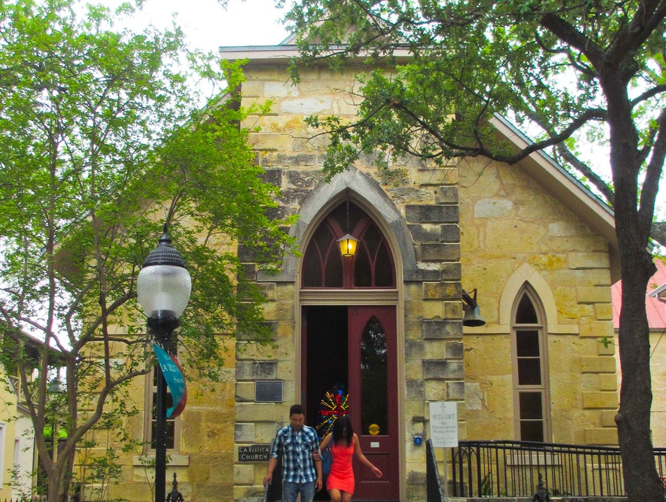 The Little Church of La Villita San Antonio Texas United States