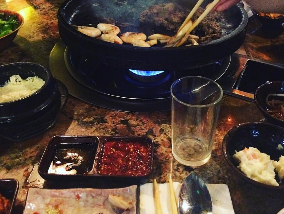 All You Can Eat Korean BBQ Los Angeles California United States