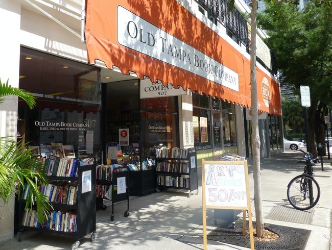 An Oasis of Books in Downtown Tampa