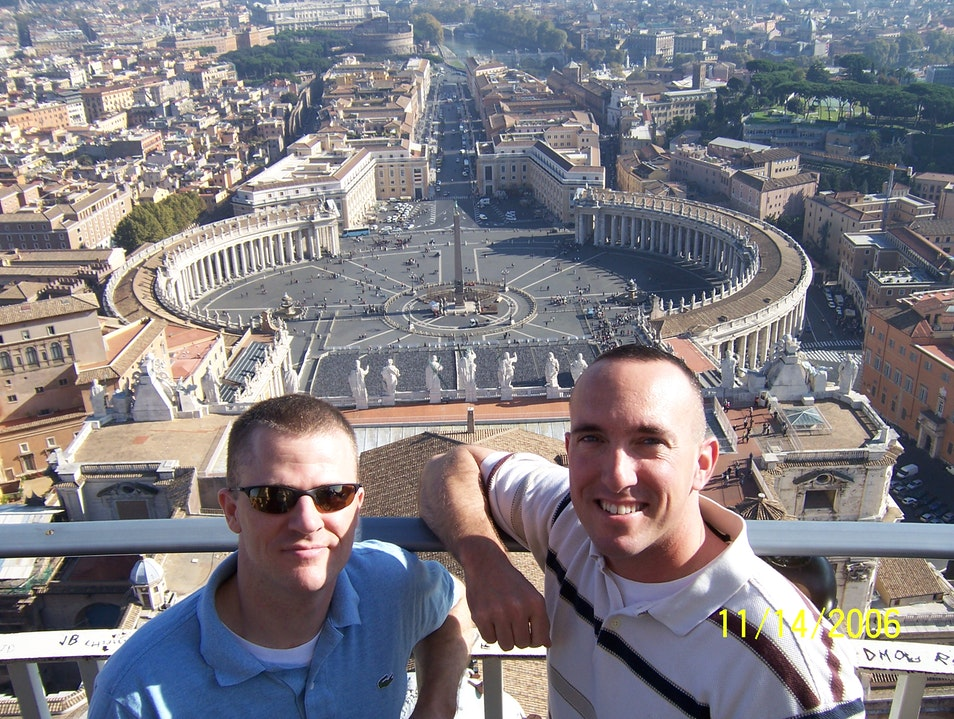 Best view of Vatican City Rome  Italy