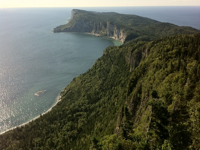 The most eastern part of Gaspesie