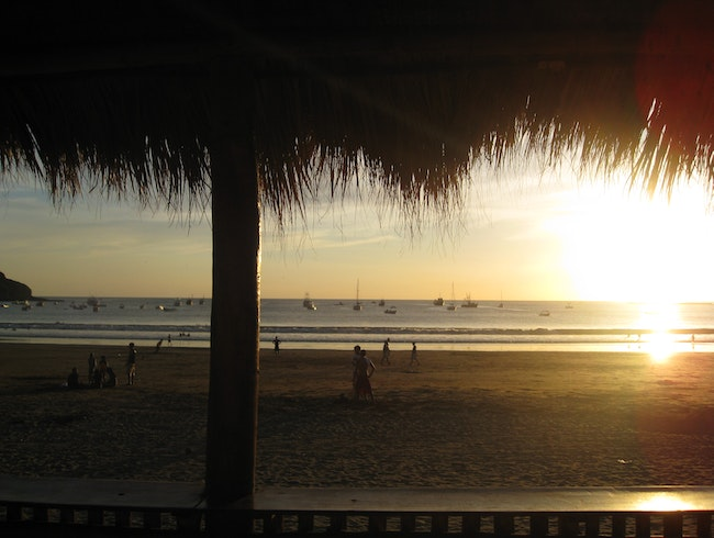 Beachfront Bars and Sunsets in Nica
