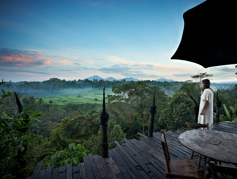 Jet-Lagged Morning Ubud  Indonesia