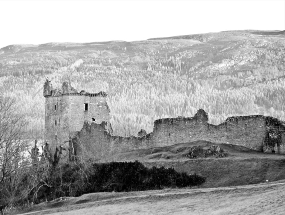 Urquhart Castle on Loch Ness Drumnadrochit  United Kingdom