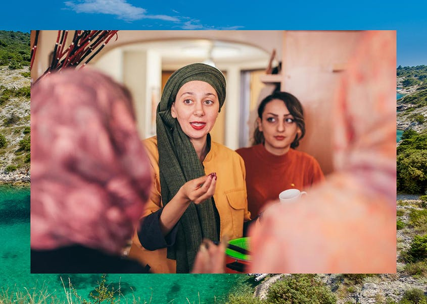 Intrepid Travel offers women-only tours in countries like Iran, shown here.