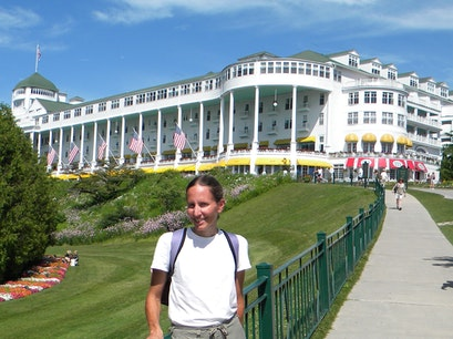 Grand Hotel Mackinac Island Michigan United States