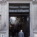 Passage Verdeau Paris  France