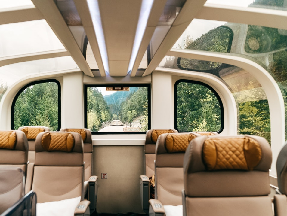 """A """"Journey Through the Clouds"""" on Rocky Mountaineer Vancouver  Canada"""