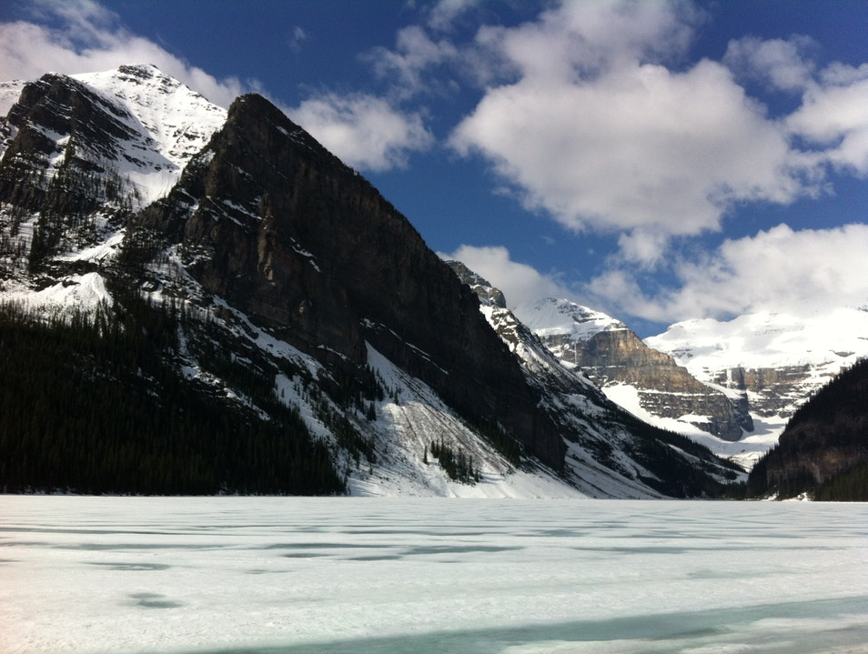 Lake Louise in Winter Lake Louise  Canada