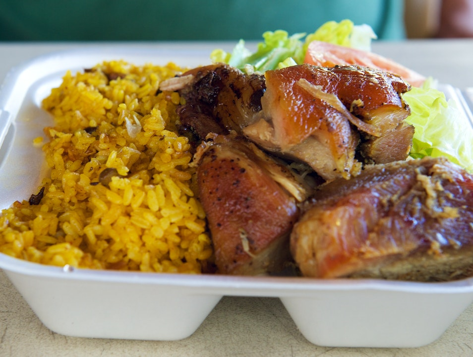 Do Not Pass Go, or The La Reine Chicken Shack Christiansted  United States Virgin Islands