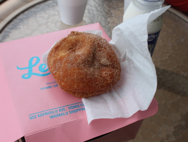 Portuguese Doughnuts in Hawaii's Capital City