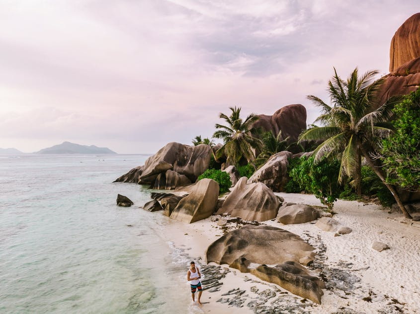 Seychelles will waive quarantine requirements for vaccinated travelers.