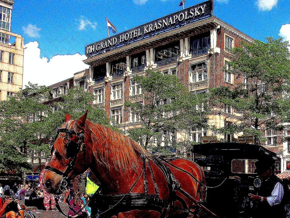 'Dam Luxury in Centrum:  NH Sofital Grand Krasnapolsky Amsterdam  The Netherlands